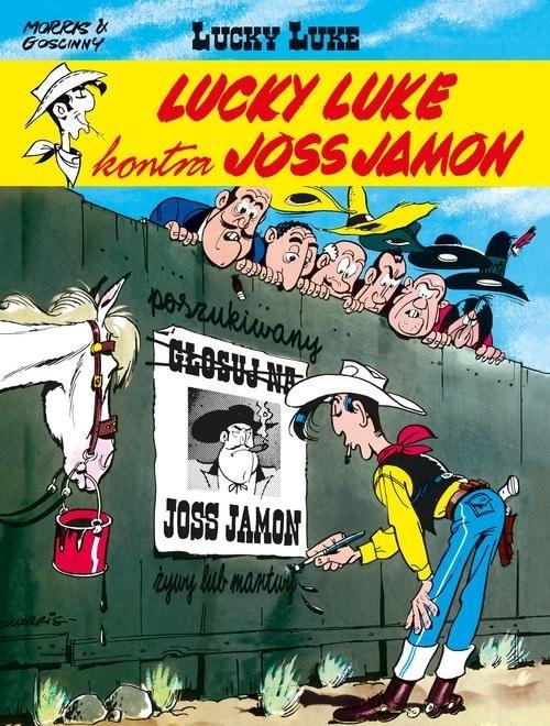 okładka Lucky Luke kontra Joss Jamon, Książka   René Goscinny, . Morris