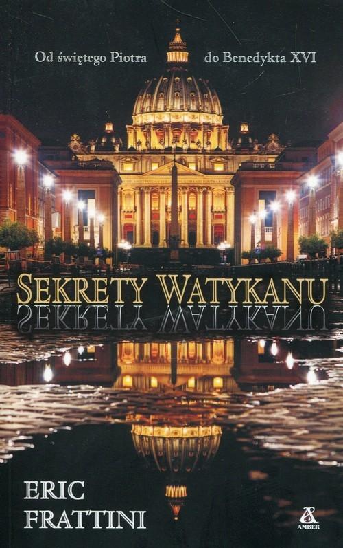 okładka Sekrety Watykanu, Książka | Frattini Eric