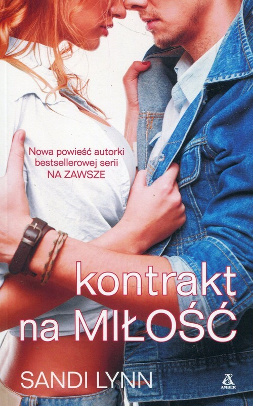 okładka Kontrakt na miłość, Książka | Lynn Sandi