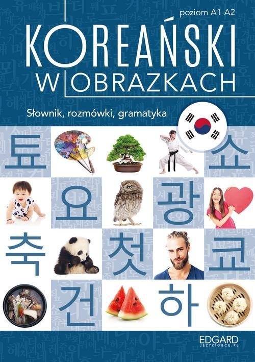 okładka Koreański w obrazkach. Słownik, rozmówki, gramatyka, Książka | Choi Jeong In