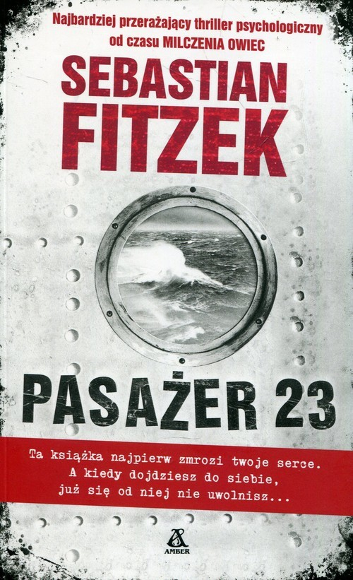 okładka Pasażer 23, Książka | Fitzek Sebastian
