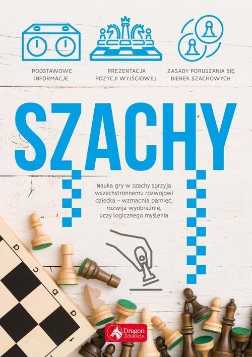 okładka Szachy, Książka | Sroczyński Maciej