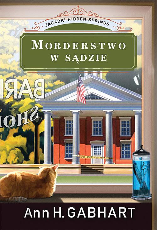 okładka Morderstwo w sądzie Zagadki Hidden Springs #1, Książka | Ann H. Gabhart
