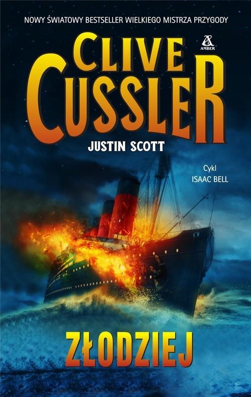 okładka Złodziej, Książka | Cussler Clive