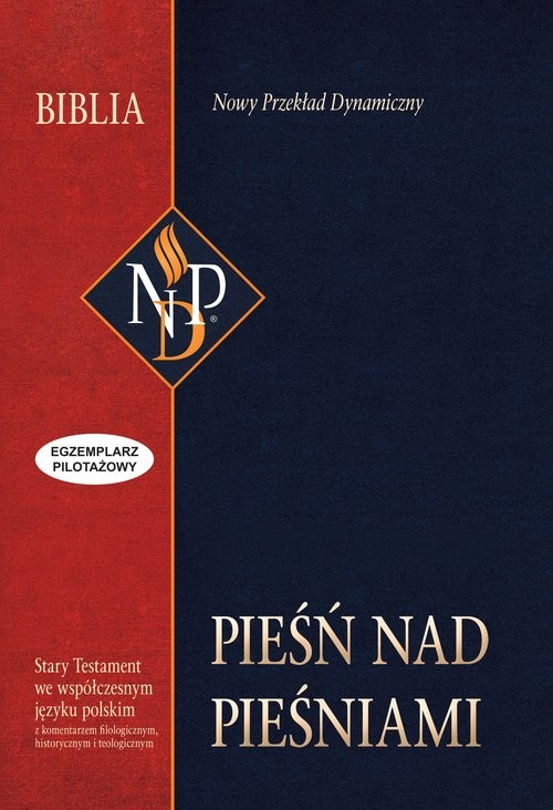 okładka Pieśń nad Pieśniami Nowy Przekład Dynamiczny, Książka  