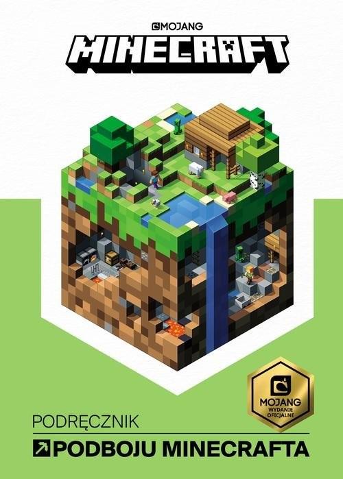 okładka Minecraft Podręcznik podboju Minecrafta, Książka | Milton Stephanie