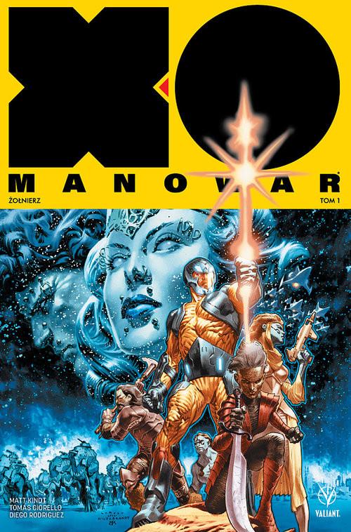 okładka X-O Manowar 1 Żołnierz, Książka | Kindt Matt