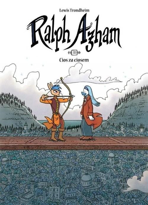 okładka Ralph Azham 11 Cios za ciosek, Książka | Trondheim Lewis