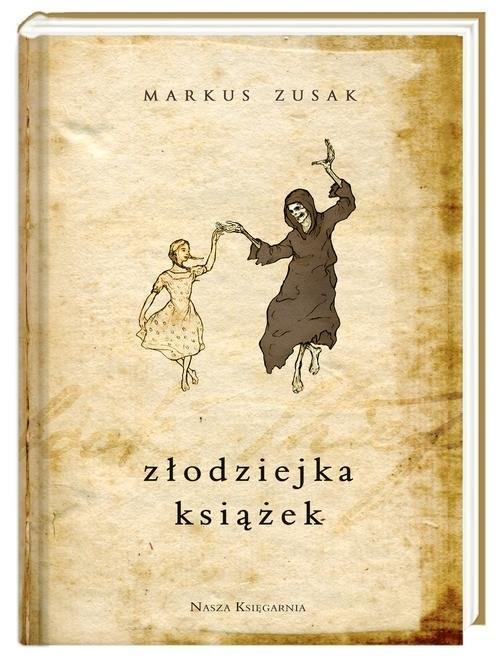 okładka Złodziejka książek, Książka | Markus Zusak