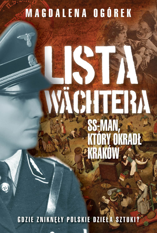 okładka Lista Wachtera, Książka | Ogórek Magdalena