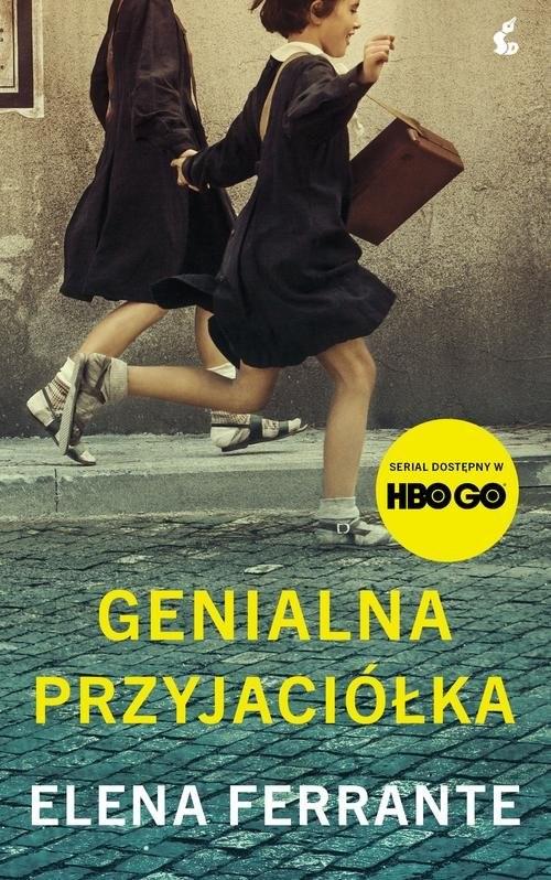 okładka Genialna przyjaciółkaksiążka      Elena Ferrante