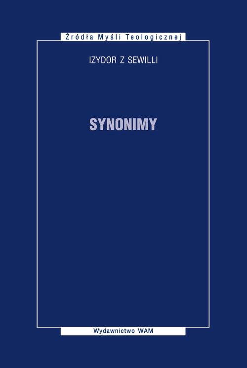 okładka Synonimy, Książka   z Sewilli Izydor
