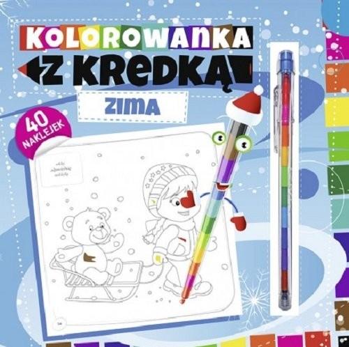 okładka Kolorowanka z kredką Zimaksiążka |  |