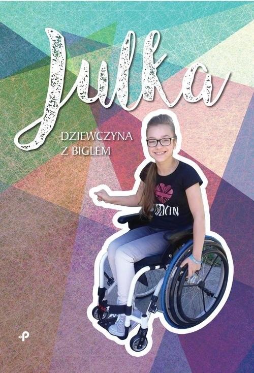 okładka Julka - dziewczyna z biglem, Książka   Wojciechowska Aneta
