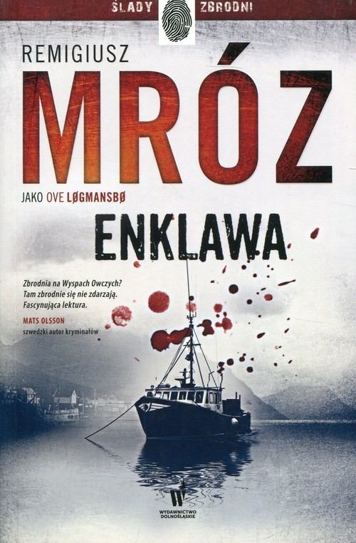 okładka Enklawa, Książka   Mróz Remigiusz