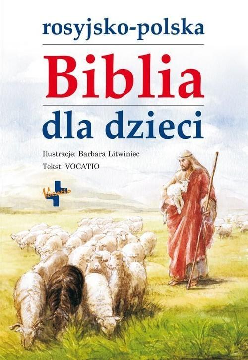 okładka Rosyjsko-polska Biblia dla dzieci, Książka  