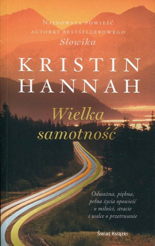 okładka Wielka samotność, Książka | Hannah Kristin