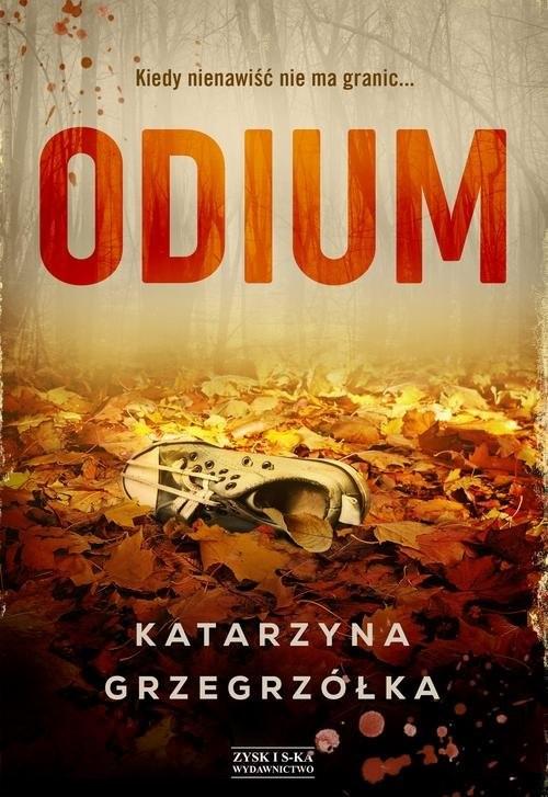 okładka Odium. KsiążkaGrzegrzółka Katarzyna