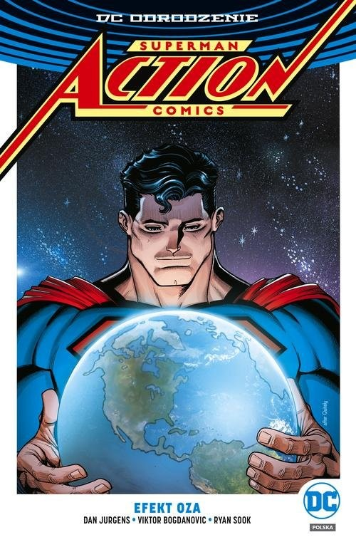 okładka Superman Action Comics Tom 5 Efekt Oza, Książka | Dan Jurgens, Rob Williams