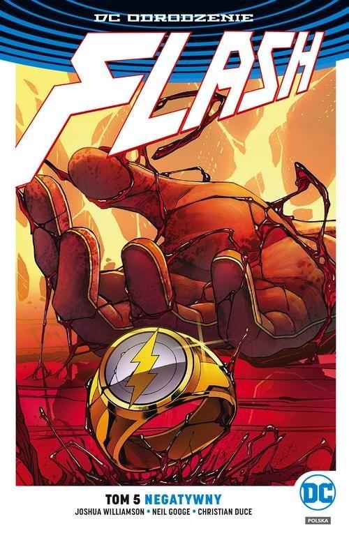 okładka Flash Tom 5 Negatywny, Książka | Williamson Joshua