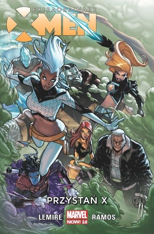 okładka Extraordinary X-Men Tom 1 Przystań X, Książka   Lemire Jeff