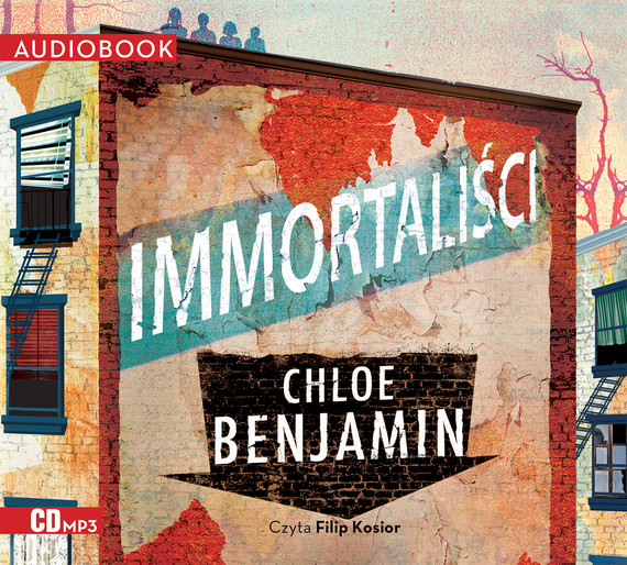 okładka Immortaliściaudiobook | MP3 | Chloe Benjamin