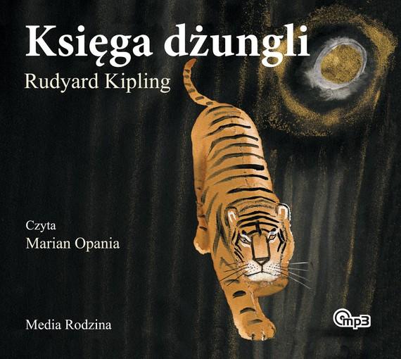 okładka Księga dżungliaudiobook | MP3 | Rudyard Kipling
