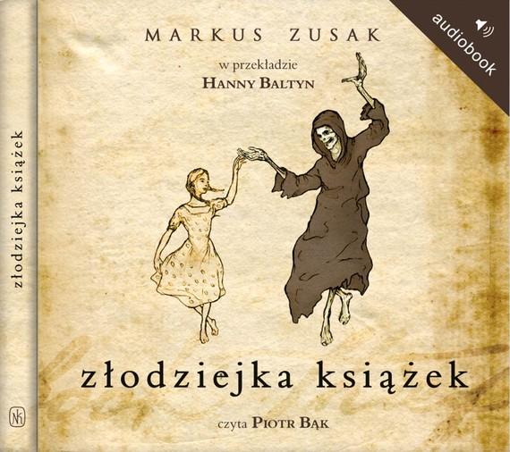 okładka Złodziejka książekaudiobook | MP3 | Markus Zusak