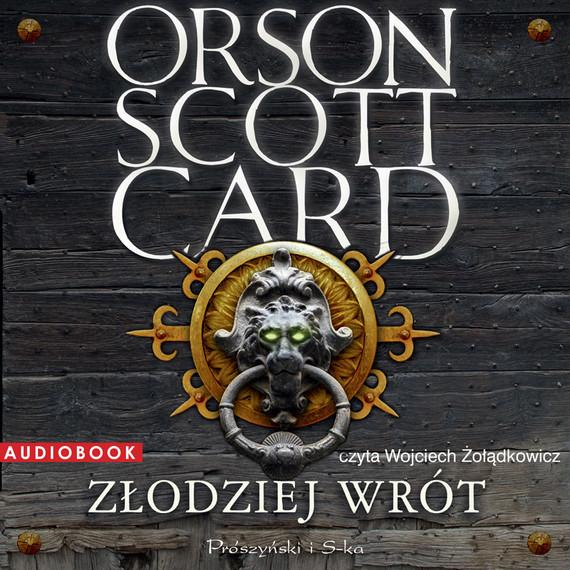 okładka Złodziej Wrót, Audiobook | Orson Scott Card