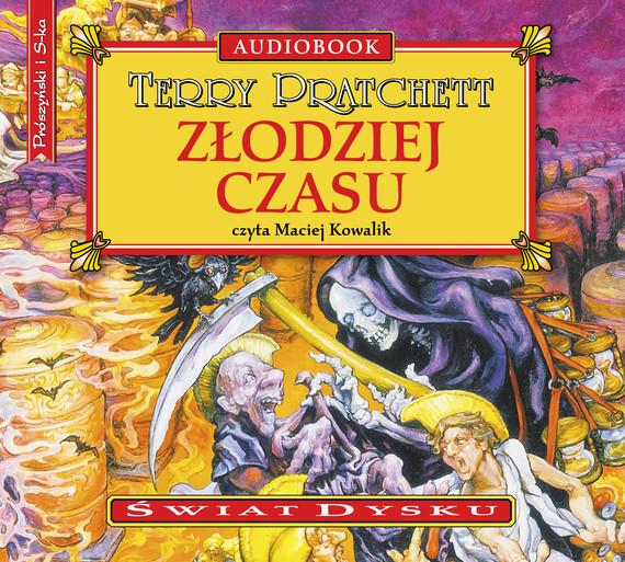 okładka Złodziej czasu, Audiobook | Terry Pratchett