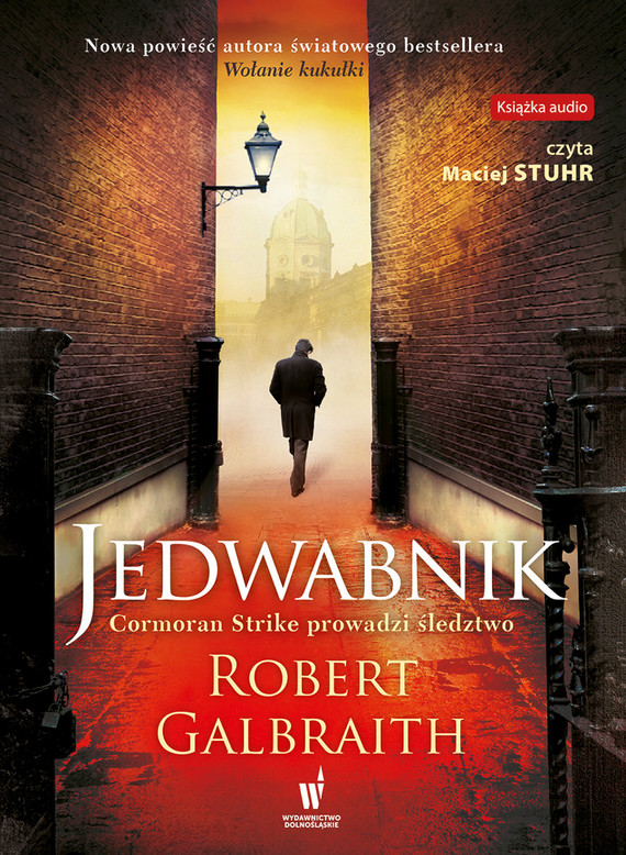 okładka Jedwabnik, Audiobook   Robert Galbraith