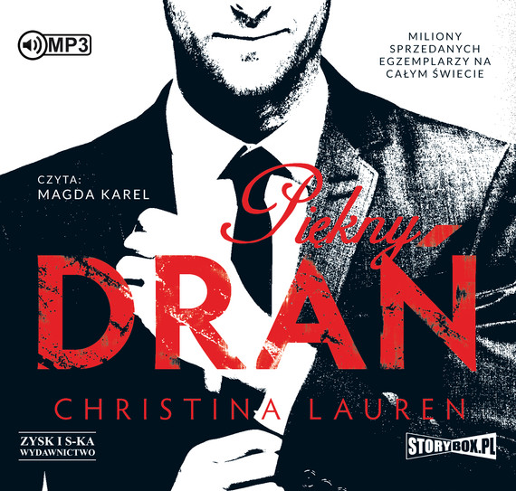 okładka Piękny drań   audiobook | MP3 | Christina Lauren