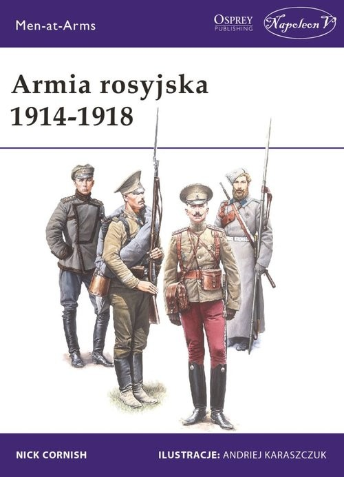 okładka Armia rosyjska 1914-1918, Książka | Cornish Nick