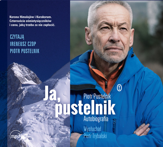 okładka Ja, pustelnik. Autobiografiaaudiobook | MP3 | Piotr Pustelnik, Piotr Trybalski