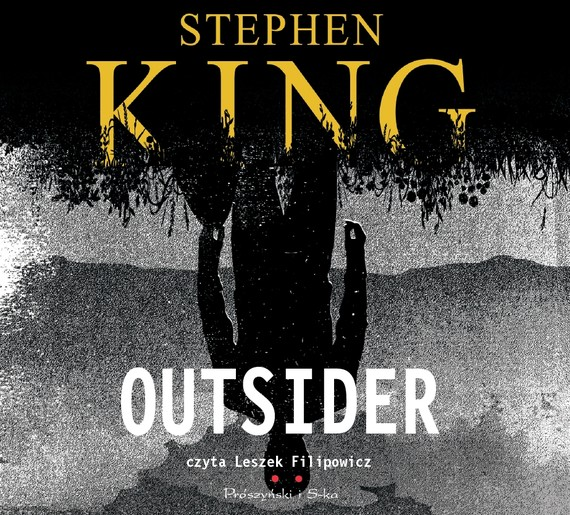 okładka Outsider, Audiobook | Stephen King