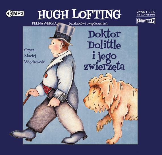 okładka  Doktor Dolittle i jego zwierzęta audiobook   MP3   Hugh Lofting