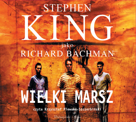 okładka Wielki marsz. Audiobook | MP3 | Stephen King