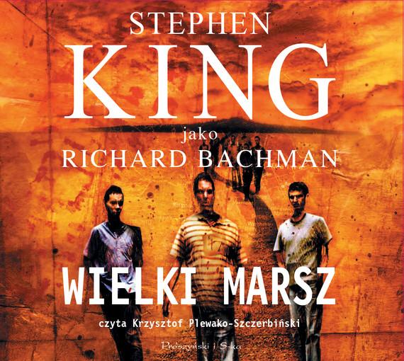 okładka Wielki marsz, Audiobook   Stephen King