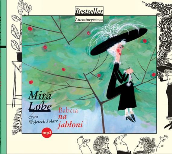 okładka Babcia na jabłoni mp3audiobook   MP3   Mira  Lobe