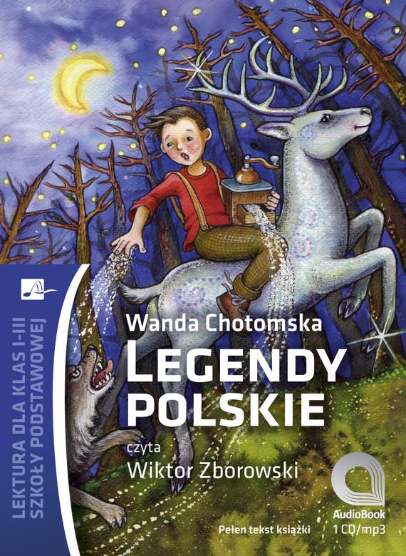 okładka Legendy polskie, Audiobook | Wanda Chotomska