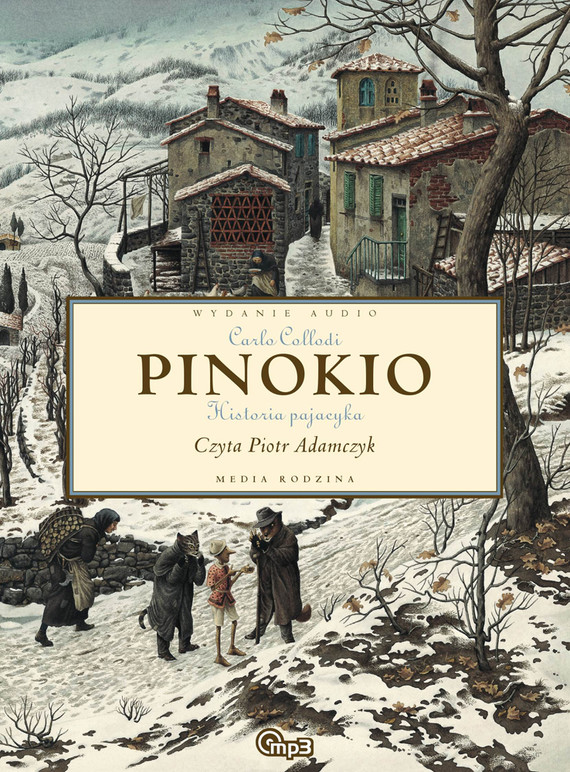 okładka Pinokio, Audiobook | Carlo Collodi