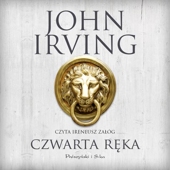 okładka Czwarta ręka, Audiobook | John Irving