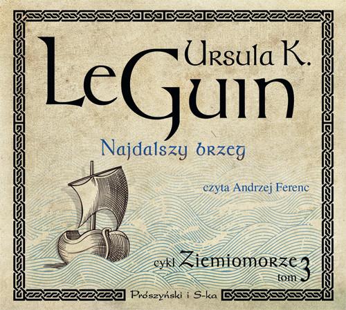 okładka Najdalszy brzegaudiobook | MP3 | Ursula K. Le Guin