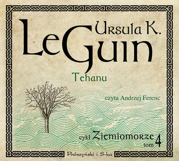 okładka Tehanu. Audiobook | MP3 | Ursula K. Le Guin