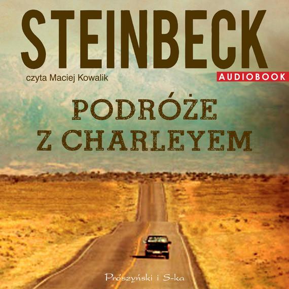 okładka Podróże z Charleyem, Audiobook | John Steinbeck