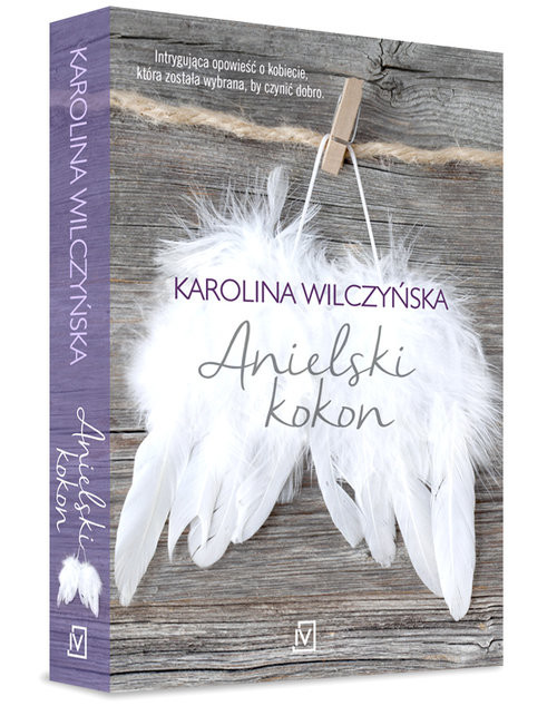okładka Anielski kokonksiążka |  | Karolina Wilczyńska