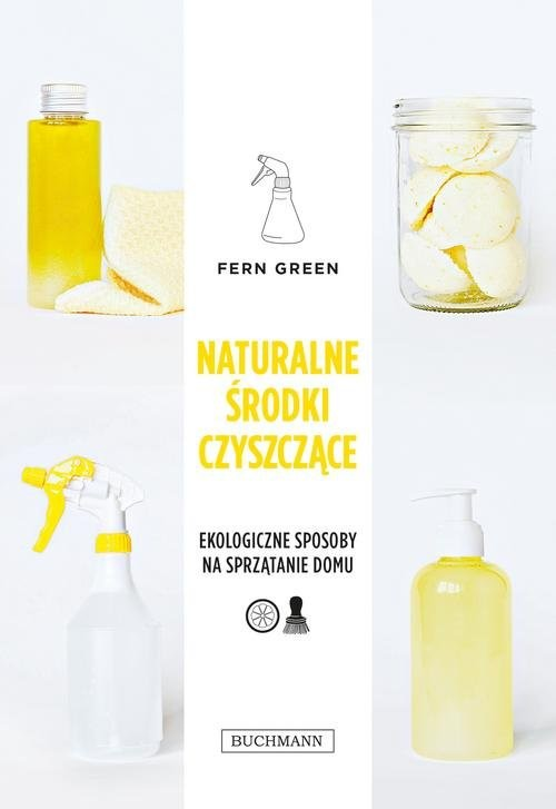 okładka Naturalne środki czyszczące, Książka   Green Fern