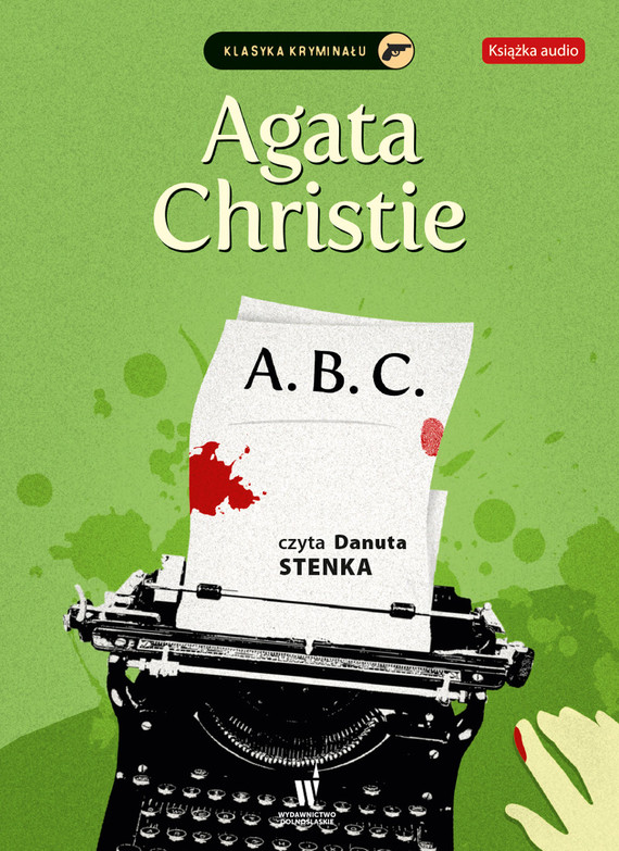 okładka A.B.C., Audiobook | Agata Christie