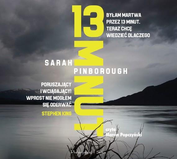 okładka 13 minut, Audiobook | Sarah Pinborough