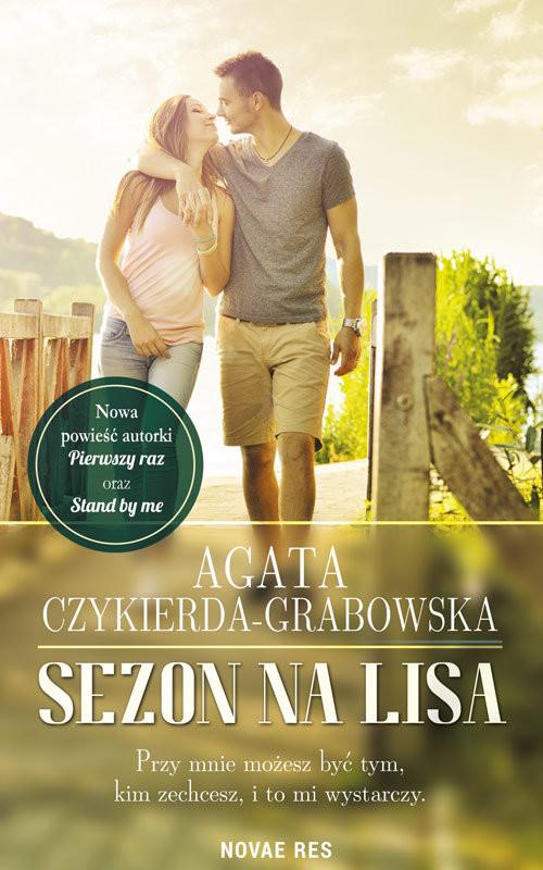 okładka Sezon na lisa, Książka | Agata  Czykierda-Grabowska